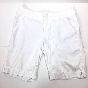 Lilly Pulitzer Shorts - Lilly Pulitzer white Bermuda shorts